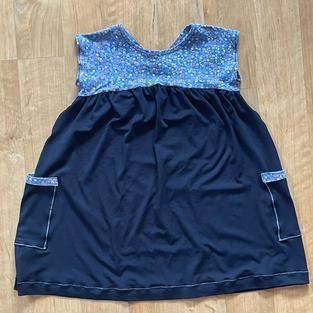 Sommerkleidchen aus Jersey für meine Nichte