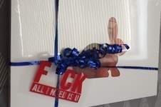 """Makerist - FCK hab ich mal als """"Liebeserklärung"""" für mein Mann als Geschenkanhänger gemacht - 1"""