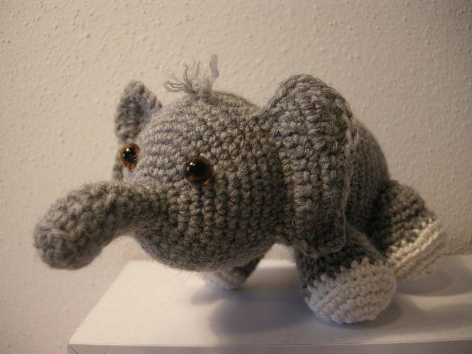 Makerist - Olivier der Elefant - Häkelprojekte - 1