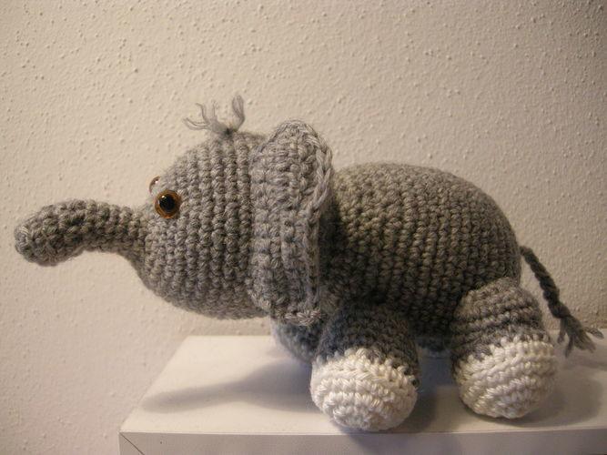 Makerist - Olivier der Elefant - Häkelprojekte - 2
