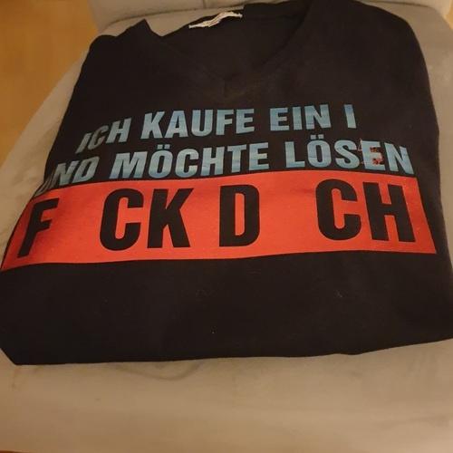 Makerist - FCK DCH wollte mein Mann direkt auf sein Shirt - Textilgestaltung - 2