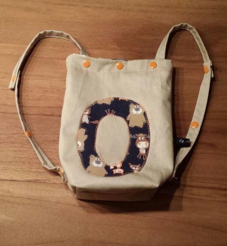 Makerist - Kindertasche/Rucksack aus Baumwolle/innen Wachstuch - Nähprojekte - 1