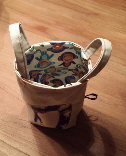 Makerist - Kindertasche/Rucksack aus Baumwolle/innen Wachstuch - Nähprojekte - 3