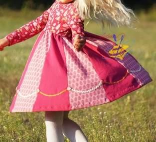 Ein Drehkleid für eine Prinzessin - Lottis Drehkleid