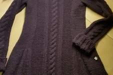 Makerist - Mädchen Strickkleid ca Größe  158  - 1