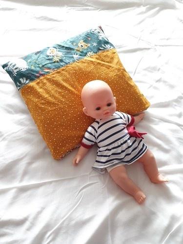 Makerist - Coussin magique Chouquette de Filcoupic pour bébé  - Créations de couture - 1