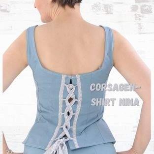 Makerist - Corsagenshirt Nina für Damen aus Jersey - 1