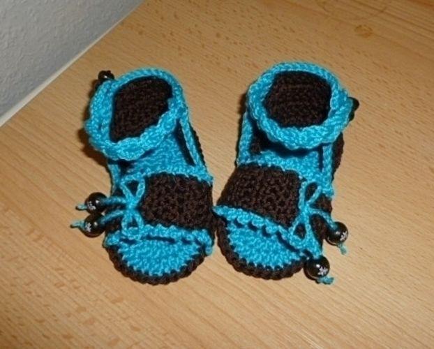 Makerist - Baby-Sandalen - Häkelprojekte - 3