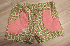 Makerist - Kurze Erdbeerhose in Größe 110 - 1