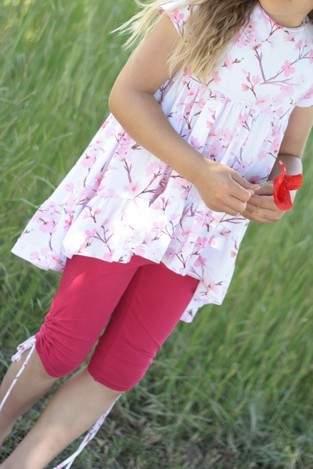Makerist - Valessia aus Kirschblüten Jersey - 1