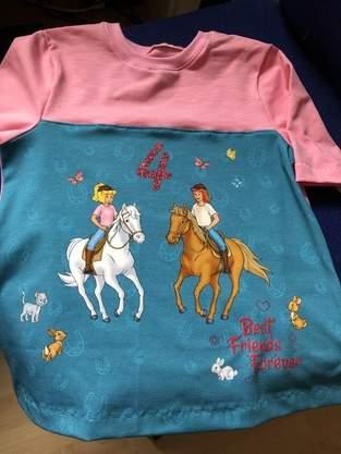 Makerist - Geburtstagsshirt mit Bibi und Tina Panel  - 1