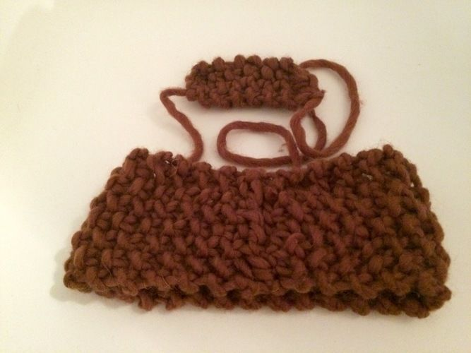 Makerist - Warmes Stirnband oder it's never too dark to be cool! - Strickprojekte - 2