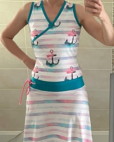 Makerist - Ma robe cache cœur Sandy - #makeristalamaison - 1