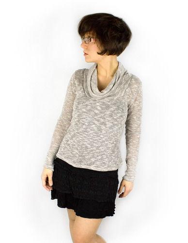 Makerist - Kuschliger Pullover aus Glitzerstrick - Nähprojekte - 1