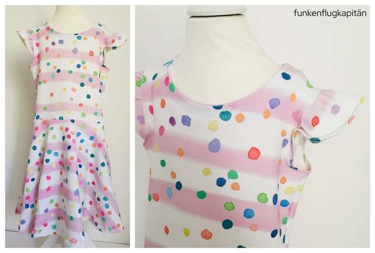 Makerist - Kleid mit Drehrock - Nähprojekte - 1