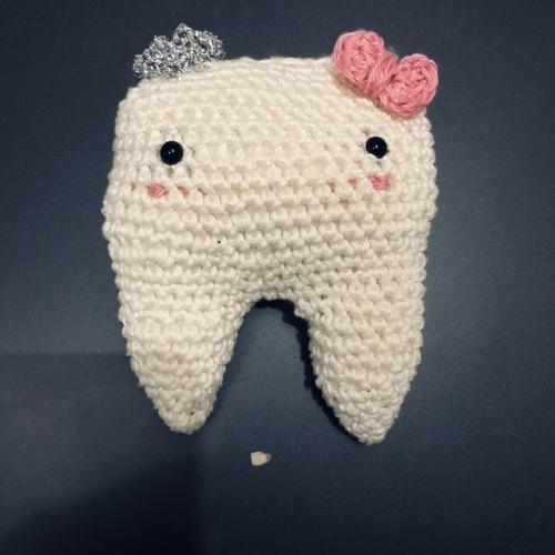 Makerist - QUENOTTE, LE DOUDOU DES DENTS,CROCHET, AMIGURUMI - Créations de crochet - 1