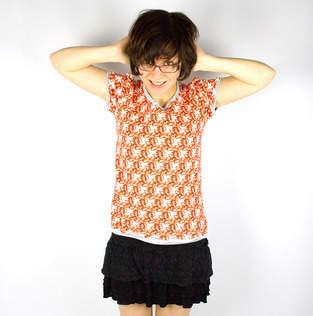 Makerist - Shirt mit Vogelprint - 1