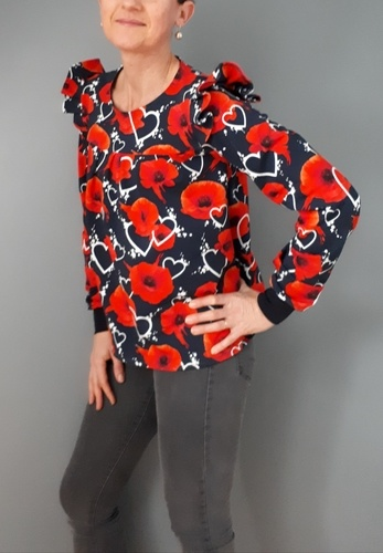 Makerist - ma blouse Kampanule - #makeristalamaison - 1