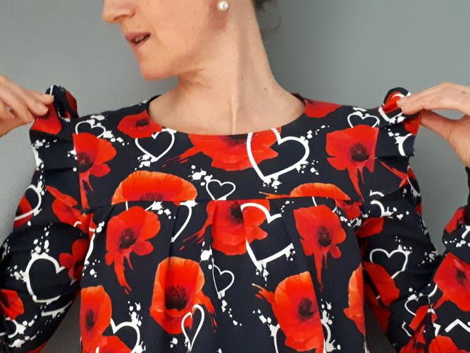 Makerist - ma blouse Kampanule - #makeristalamaison - 2
