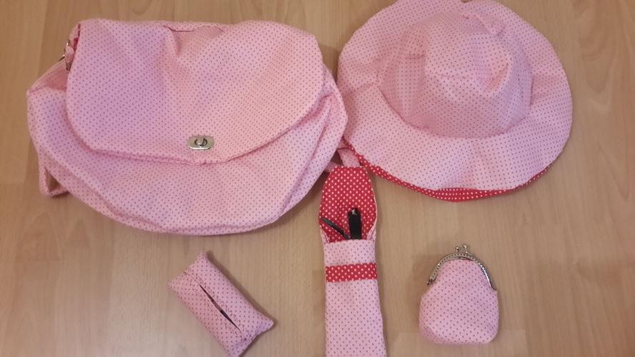 Makerist - Der Sommer kann kommen - Tasche, TaTüTa, Brillenetui, Wendehut (und eigentlich eine Clipbörse) - Nähprojekte - 1
