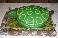 Makerist - Schildkrötentorte   Die Torte war für einen lieben Arbeitskollegen der Schildkrötenfan ist. - 1