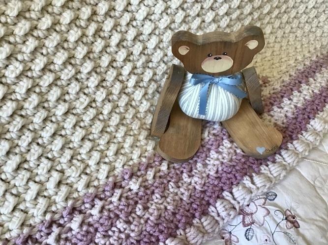 Makerist - French Chateau Baby Blanket  - Crochet Showcase - 3