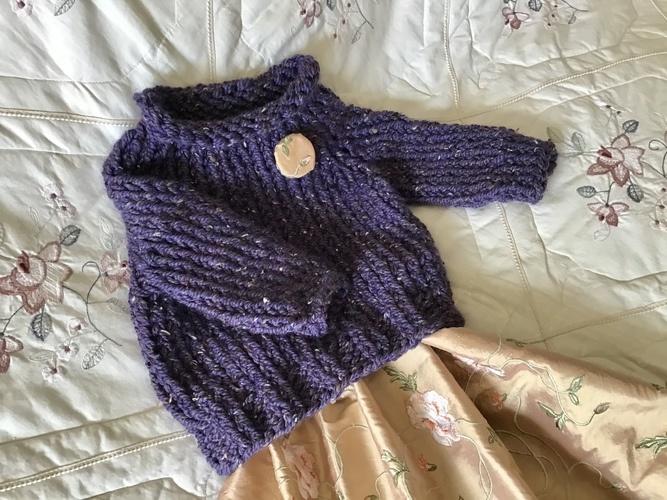 Makerist - The Tweedy  Pullover  - Knitting Showcase - 1