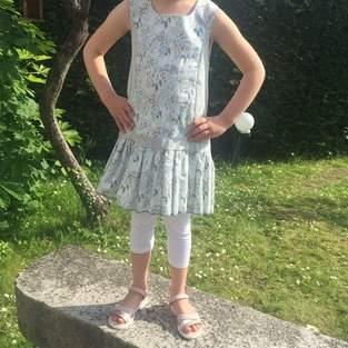 Makerist - Robe brunette en 5 ans - 1