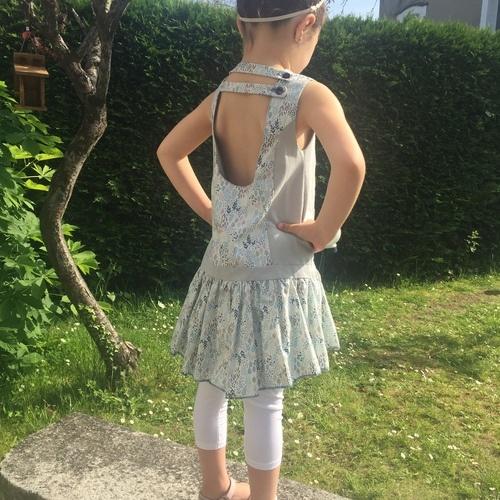 Makerist - Robe brunette en 5 ans - Créations de couture - 2