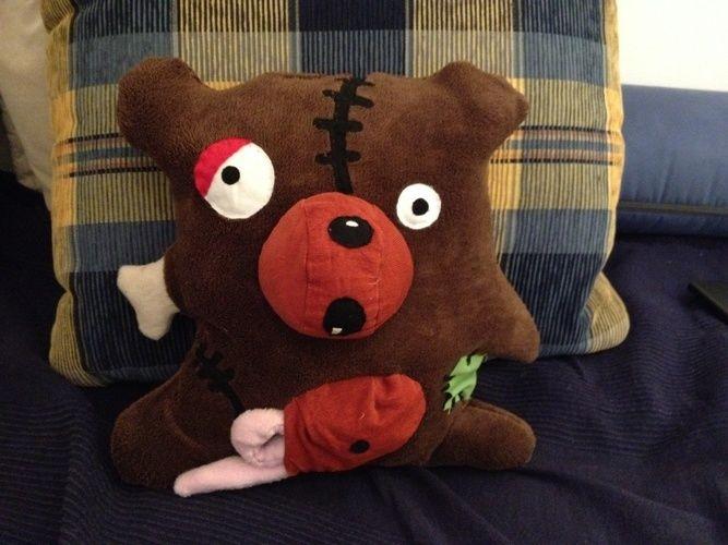 Makerist - Kuscheliger Zombie Bär  - Nähprojekte - 1