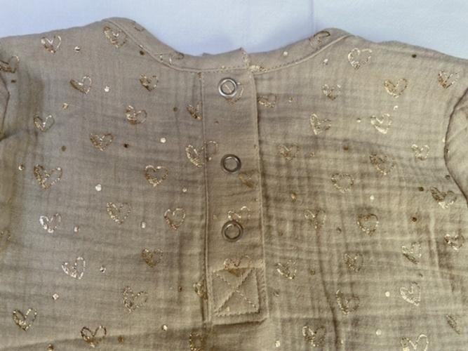 Makerist - Musselinbluse mit Druckknopfleiste hinten - Nähprojekte - 3