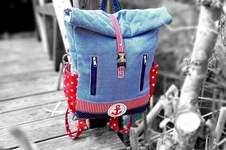 Makerist - Kinderrucksack, Outdoorstoff - 1