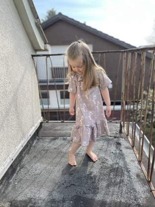 Ranglankleid Kleine Sommerdame