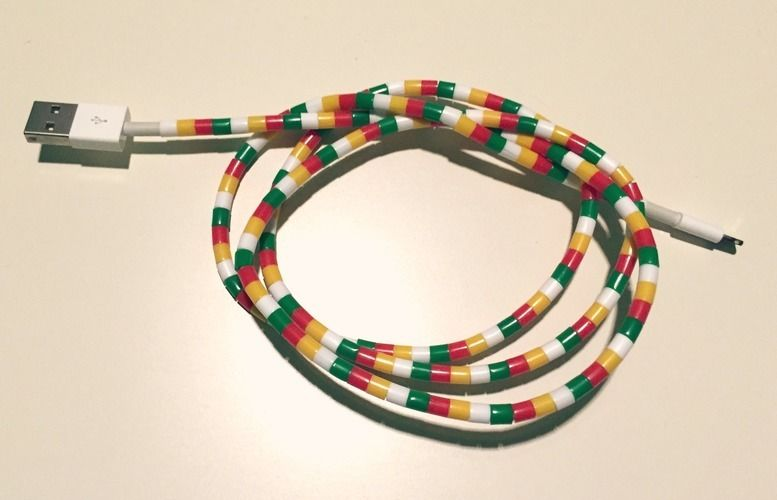 Makerist - DIY Kabelschutz - DIY-Projekte - 3
