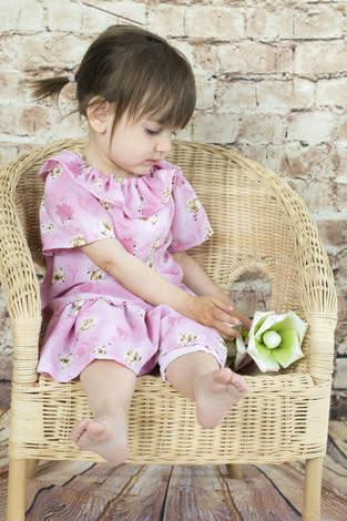 Kleine Sommerdame aus Viskose