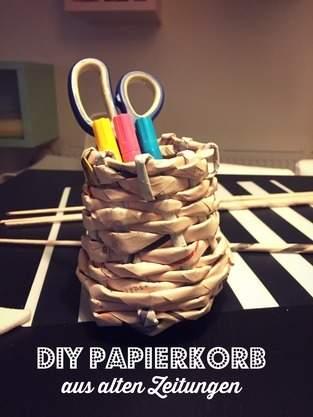 Makerist - DIY Papierkorb  - 1