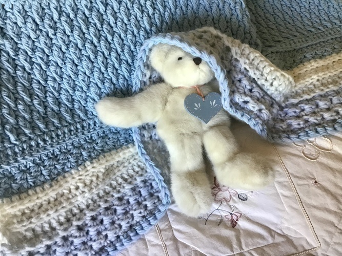 Makerist - Cloud Nine Baby Blanket  - Crochet Showcase - 1