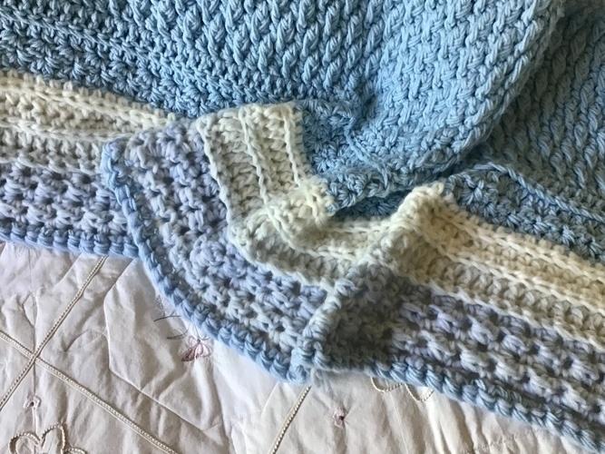 Makerist - Cloud Nine Baby Blanket  - Crochet Showcase - 2
