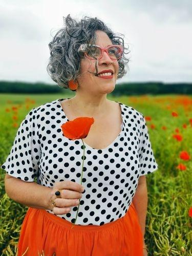 Makerist - Une blouse fara esprit retro - Créations de couture - 1