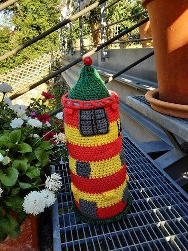 Makerist - Pilsumer Leuchtturm  - Häkelprojekte - 1