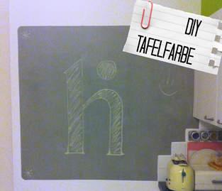 DIY Tafelfarbe
