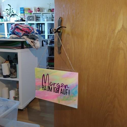 """Makerist - Plottdatei """"Morgen räum ich auf"""" von B.Style - DIY-Projekte - 2"""