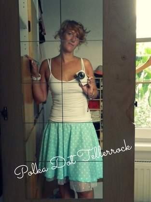 Polka Dot Tellerrock!