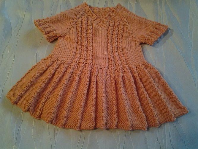 Makerist - Kleid für Emily :-) - Strickprojekte - 1