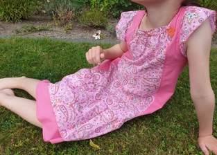 Drosia als Sommerkleid