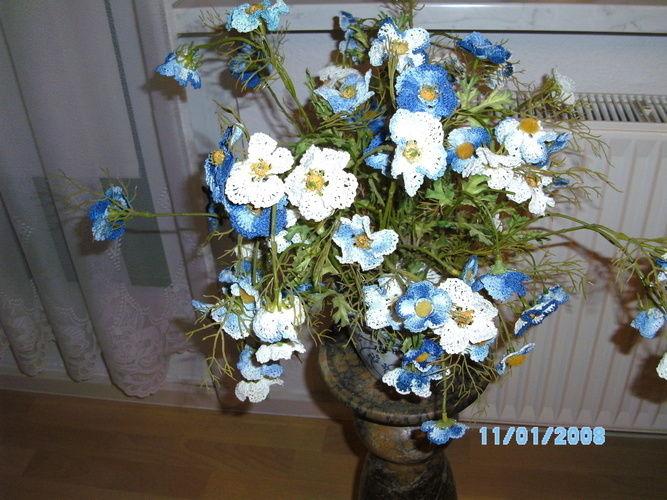 Makerist - Ein schöner Blumenstrauß für jede Jahreszeit. - Häkelprojekte - 1