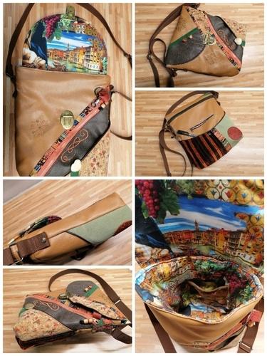 Makerist - Boho - Tasche, Materialmix und viel Tüdel :-) - Textilgestaltung - 2