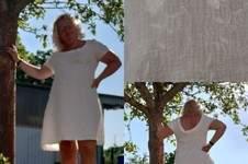 Makerist - Kleid Dressy ohne Kellerfalte Kurzarm und tiefer Rückenausschnitt in Musselin  - 1