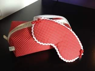Makerist - Schlafbrille plus Täsch'chen - 1