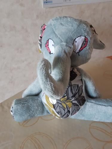 Makerist - patron peluche éléphant Manuia  de Mômes Déziles - #makeristalamaison - 1